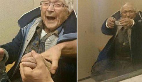 Nenek 99 Tahun Penuhi Impian Masuk Lokap
