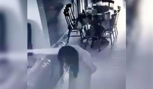 Video: Pembantu Rumah Dirasuk 'Nenek Bongkok'
