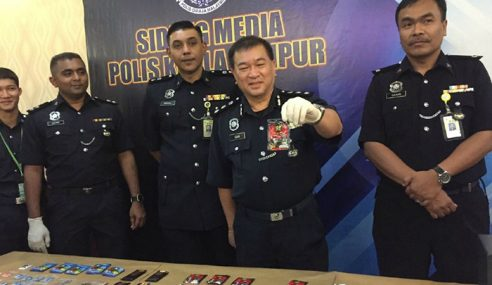 Polis Tumpas Sindiket Dadah 'Kopi 3 Dalam 1'