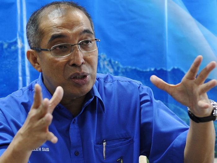 Datuk Seri Dr Salleh Said Keruak