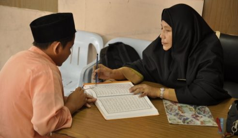 Guru KAFA Tingkat Sampaikan Dakwah Pada Belia