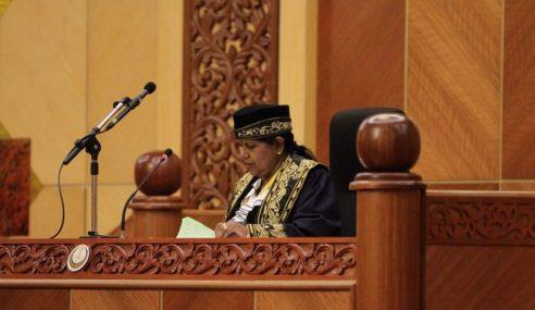 2 Anggota Dewan Negara Dilantik Pada Sidang DUN