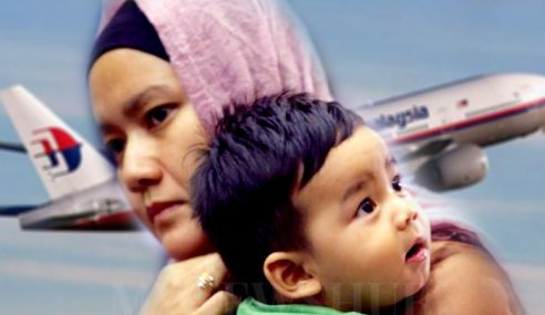 MH370: Anak Sebut Papa Pertama Kali Lihat Gambar