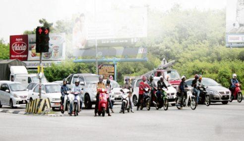 DBKL Wujud Zon Khas Motosikal Di Lampu Isyarat