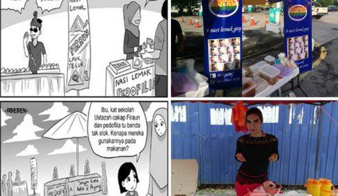 Kartunis 'Sindir' Peniaga Main Agama Jadi Pelaris