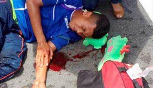 2 Pemain Piala Presiden P.Pinang Cedera Kemalangan