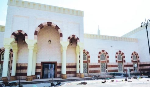 Masjid Di Bukit Uhud Hampir Siap Baik Pulih