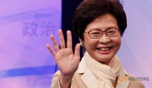 Carrie Lam Wanita Pertama Dilantik Ketuai Hong Kong