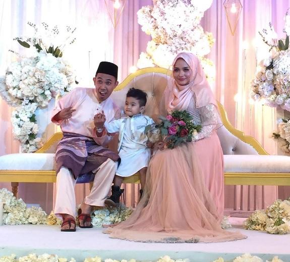 Hafiz Selamat Bertunang Dengan Ibu Tunggal