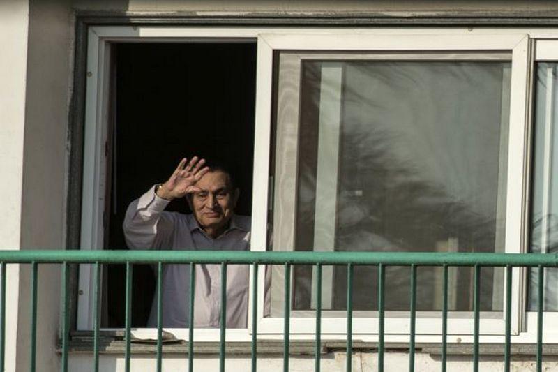 Hosni Mubarak Bebas Dari Tahanan