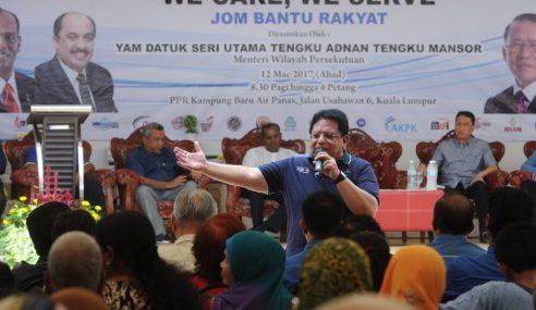 Teresa Kok Cemburu Bantah Projek RUMAWIP – Ku Nan