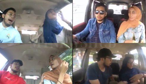 Video: Aksi Minah 'Terkejut' Cuit Hati Netizen