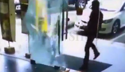 Ditipu RM4 Sehari, Lelaki Amuk Pecahkan Premis