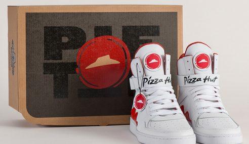 Pizza Hut Hasilkan Kasut 'Pintar' Pesan Piza