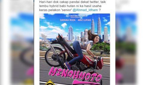 Netizen Anggap Filem Minah Motor Sebagai Sampah