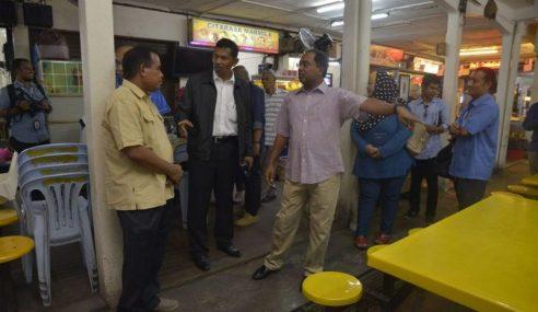 MB Perak 'Spot Check' Tandas Awam Kotor Di Ipoh