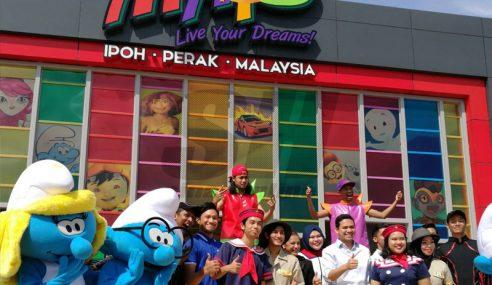 Taman Tema Animasi Pertama Asia Dibuka Jun Ini