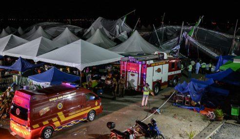 19 Cedera, Khemah Ekspo Muktamar PAS Kedah Ranap