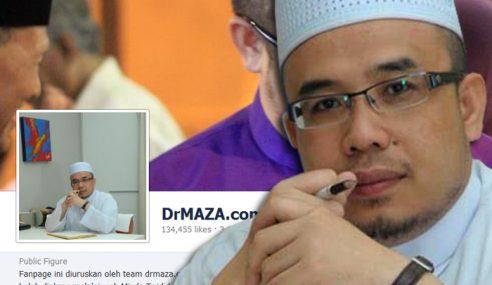 DrMAZA.com Saran Kafirkan Pihak Tangguh 'Akidah'