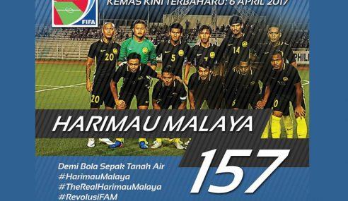 Malaysia Naik 4 Anak Tangga Ranking Terbaharu FIFA