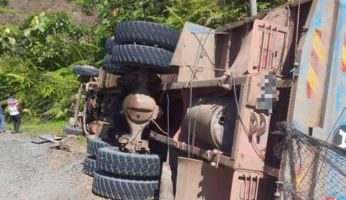 Pemandu Lori Maut Dalam Kemalangan Di Bukit Ular