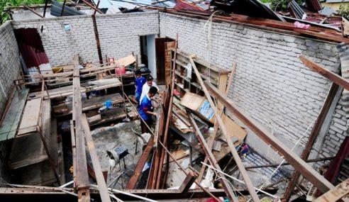 50 Rumah Di Alor Setar Rosak Akibat Ribut