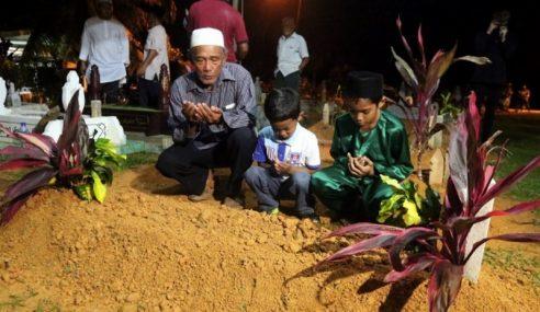 Jenazah Mohamad Thaqif Amin Selamat Dikebumikan