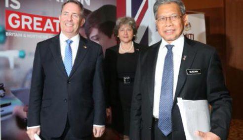 Dagangan Dua Hala Malaysia-Britain Tidak Terganggu