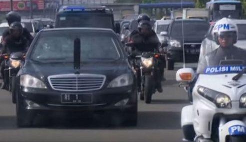 Konvoi Jokowi Tanpa Siren, Tutup Jalan Dan Hasilnya…