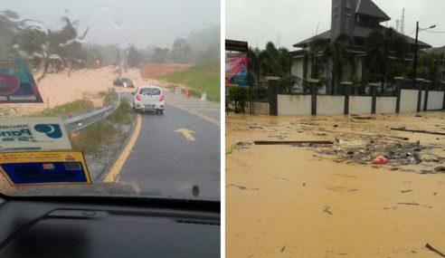 Video: Rawang Julung Kali Dilanda Banjir Kilat