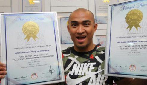 Malaysia Book of Records Iktiraf Kejayaan Azizulhasni