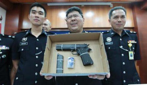 Polis Kelantan Tahan Lelaki Seludup Senjata Api
