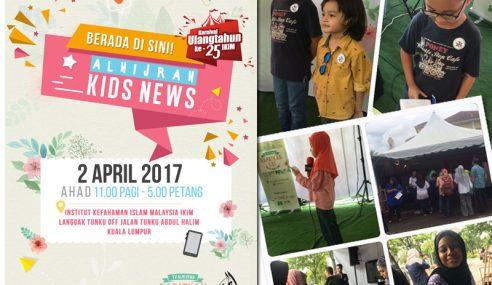 Reruai Kids News Meriahkan Festival IKIM