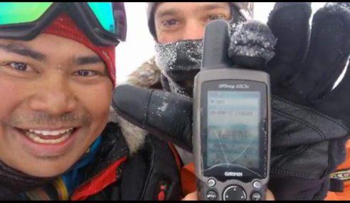 3 Penjelajah Misi Kutub Utara Tiba Di KLIA Ahad