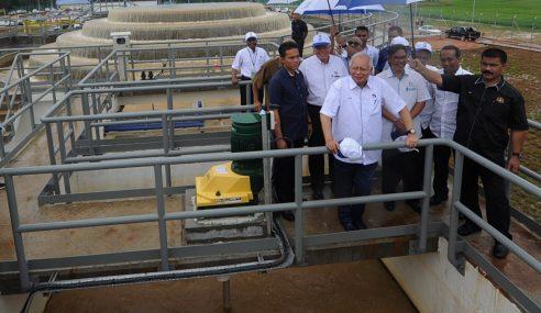 PM Serah Loji Air Bernilai RM255.1 Juta Di Ganchong
