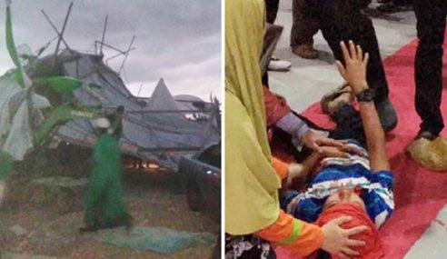 PAS Kedah Rakam Simpati Terhadap Mangsa Ribut