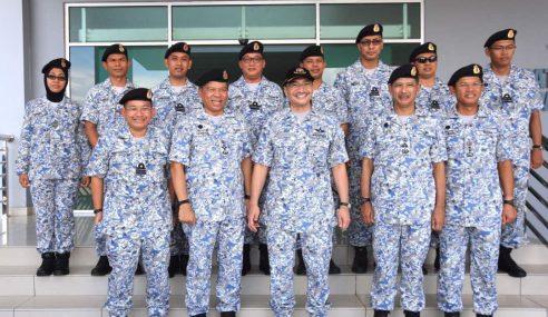 Uniform Baharu Celoreng Digital Rai Hari TLDM Ke-83