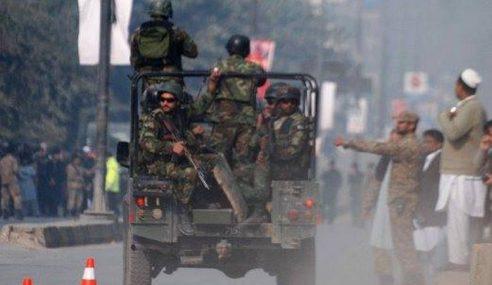 Militan Serang Pangkalan Tentera, 18 Anggota Maut