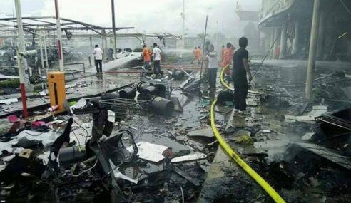Letupan Di Pasar Raya Di Pattani, 30 Dikhuatiri Cedera