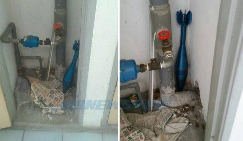 Bom Mortar Dalam Bilik Meter Air Flat Kastam?