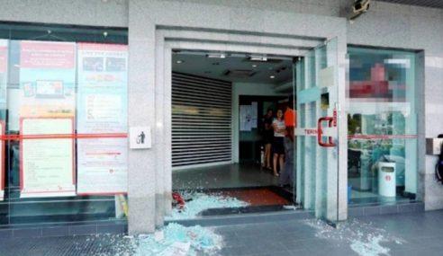 Suspek Pecah Pintu Bank Di Ipoh Belum Dikenal Pasti