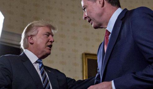 Donald Trump Pecat Pengarah FBI, James Comey