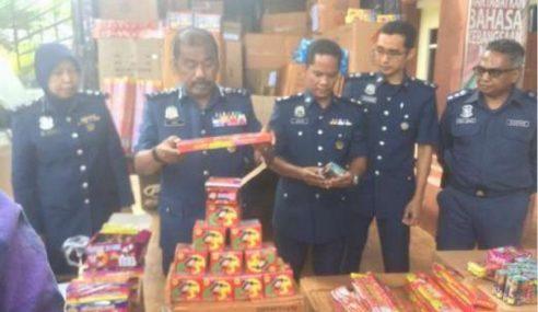 Kastam Kelantan Rampas Mercun, Rokok Seludup