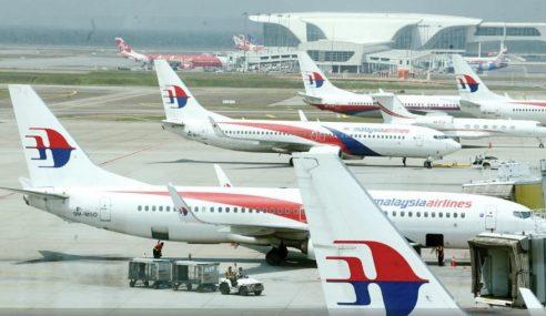 Penerbangan MAS Dari KL Ke Perth Ditunda