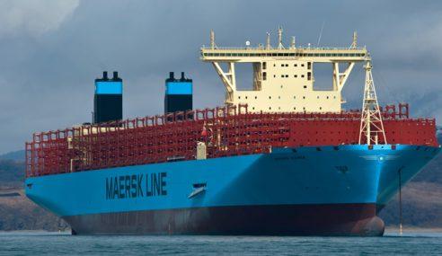 Madrid Maersk Berlabuh Di Tanjung Pelepas