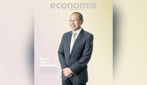 Wahid Omar Hiasi Muka Depan Majalah Economia