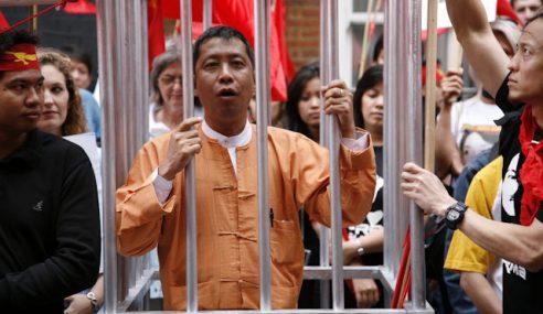 Rundingan Damai, Myanmar Bebas Tahanan Politik