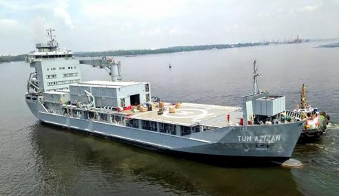 TLDM Kendali Operasi Kapal Auksiliari Tun Azizan