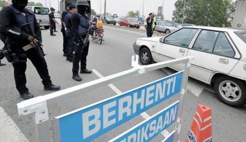 Polis Jejak Suspek Larikan Kereta Polis Di USJ Taipan