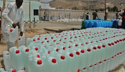 Beribu Botol Air Zam Zam Palsu Dimusnahkan